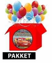 Vergelijk cars themafeest pakket prijs