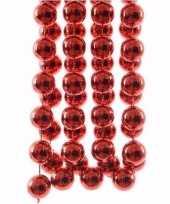 Vergelijk christmas red kerstboom decoratie kralenslinger xxl rood 270 cm prijs