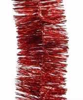 Vergelijk christmas red kerstboom decoratie slinger rood 270 cm prijs