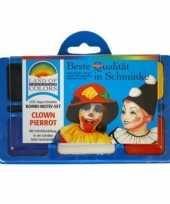 Vergelijk clown schminken schminkset prijs 10100872