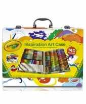 Vergelijk complete kleurset in koffer 150 delig prijs