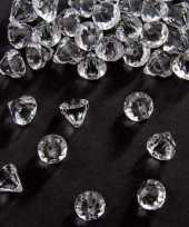 Vergelijk decoratie diamantjes transparant 12 mm prijs 10131549