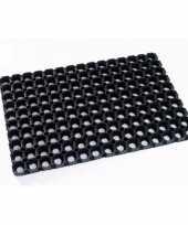 Vergelijk deurmat buitenmat rubber 80 x 50 cm prijs