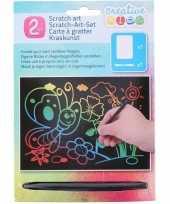 Vergelijk dieren kras platen regenboog kleuren prijs 10136412