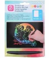 Vergelijk dieren kras platen regenboog kleuren prijs 10136427