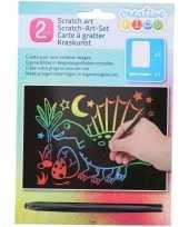 Vergelijk dieren kras platen regenboog kleuren prijs 10136428