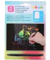 Vergelijk dieren kras platen regenboog kleuren prijs 10136430