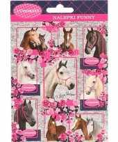 Vergelijk dieren stickers paarden 10 stuks set 4 prijs