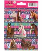 Vergelijk dieren stickers paarden 10 stuks set 5 prijs