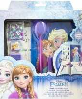 Vergelijk disney frozen hobby dagboek knutselen set voor meisjes prijs