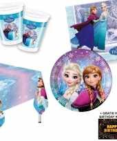 Vergelijk disney frozen lights tafelversiering pakket 8 personen voor kinderfeestje prijs