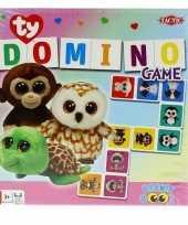 Vergelijk domino spel ty beanie boo voor kinderen prijs
