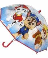 Vergelijk doorzichtige paw patrol paraplu voor jongens 71 cm prijs