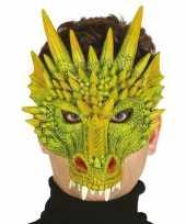 Vergelijk draak draken horror halloween masker van foam prijs