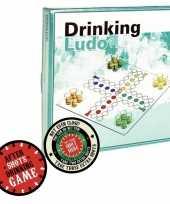 Vergelijk drank bordspel met pionnen feest artikelen met plaats je shotglas viltjes prijs
