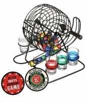 Vergelijk drankspel bingo met shotglaasjes en plaats je shotglas viltjes 10x prijs