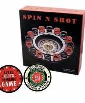 Vergelijk drankspellen shot roulette met plaats je shotglas viltjes prijs