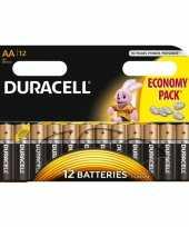 Vergelijk duracell aa batterijen 12 stuks prijs