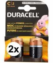 Vergelijk duracell alkalnine batterijen cr14 4 stuks prijs