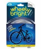 Vergelijk fietswiel spaakverlichting led lichtsnoer blauw 2 stuks prijs