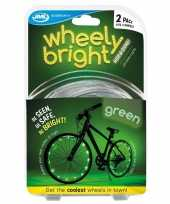 Vergelijk fietswiel spaakverlichting led lichtsnoer groen 2 stuks prijs