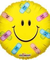 Vergelijk folie ballon smiley beterschap 35 cm prijs