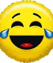Vergelijk folie ballon smiley lachend 35 cm prijs