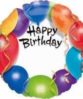 Vergelijk folie ballonnen happy birthday 45 cm prijs