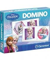 Vergelijk frozen domino spel prijs