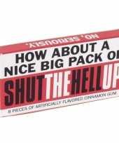 Vergelijk fun kauwgom shut the hell up prijs