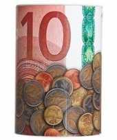 Vergelijk geld 10 euro biljet spaarpotje 10 x 15 cm prijs