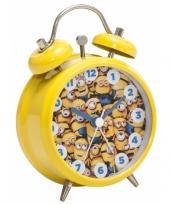 Vergelijk gele minions wekkers 8 cm prijs