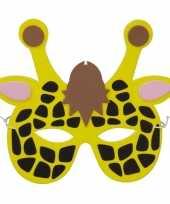 Vergelijk giraffes foam masker voor kinderen prijs