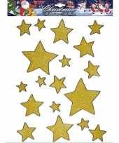 Vergelijk gouden ster raamstickers 18 stuks prijs