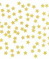 Vergelijk gouden sterretjes confetti versiering 2 zakjes prijs