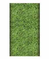 Vergelijk gras tafelkleed 180 cm prijs