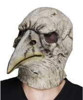 Vergelijk grijze adelaar horror halloween masker van latex prijs