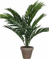 Vergelijk groene areca palm kunstplant in pot 40 cm woonaccessoires woondecoraties prijs