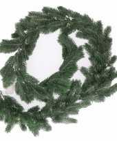 Vergelijk groene kerst dennen slinger guirlande 180 cm prijs