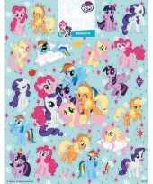 Vergelijk groot vel met my little pony stickers prijs
