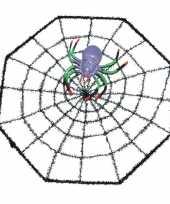 Vergelijk halloween spinnenweb met spin 29 x 29 cm prijs