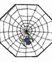 Vergelijk halloween spinnenweb met spin 38 x 38 cm prijs