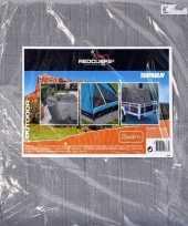 Vergelijk hoge kwaliteit afdekzeil dekzeil grijs 3 x 4 meter prijs