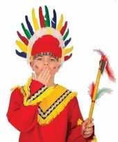 Vergelijk indianen verkleed tooi met veren prijs