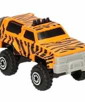 Vergelijk jeepsafari speelgoed auto tijger print prijs