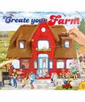 Vergelijk jongens stickerboek boerderij thema prijs