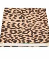 Vergelijk kaftpapier panterprint luipaardprint 200 cm prijs