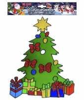 Vergelijk kerst raamsticker kerstboom prijs