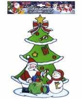 Vergelijk kerst raamsticker sneeuwpop en kerstman prijs