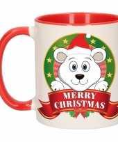 Vergelijk kerstmis mok beker ijsbeer 300 ml prijs